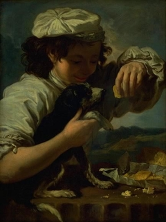 "A Boy with a Dog (Allegory of ""Taste"")"