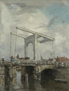 A Drawbridge in a Dutch Town