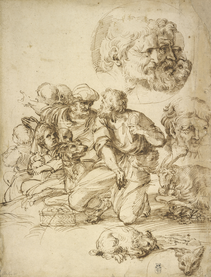 A Group of Shepherds, and Other Studies