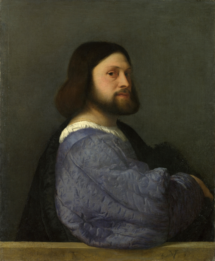 A Man with a Quilted Sleeve