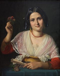 A Roman Woman in Fancy Dress
