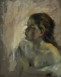 A Study of a Girl's Head