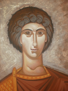 A young man from Antiochia