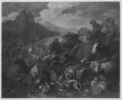 Abraham besiegt die Ehamiter