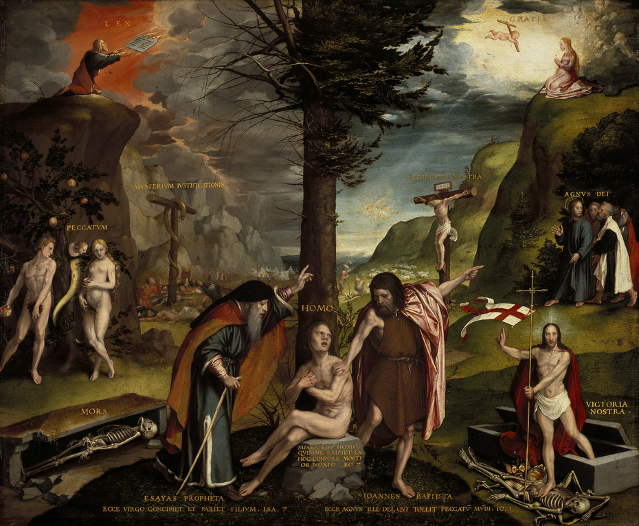 An Allegory of the Old and New Testaments