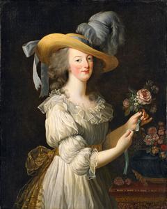 Antoinette in a Muslin dress