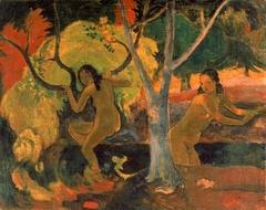 Bathers at Tahiti
