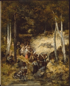 Bohemians Going to a Fête