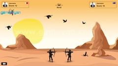 Bow Hunter – 2D multiplayer Game by Post Production Animation Studio