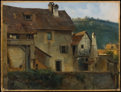 Buildings in Sainte Marie aux Mines, Haut Rhin