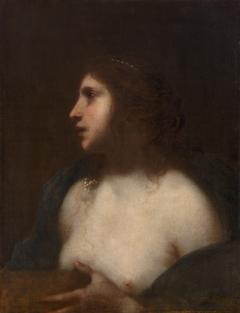 Büßende Maria Magdalena (?) (Halbfigur)