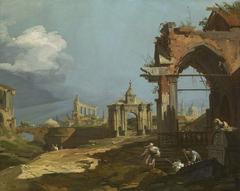 Capriccio with a Pointed Arch