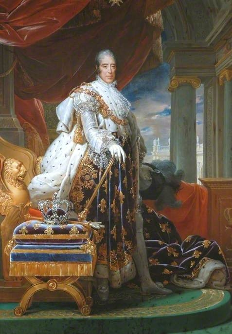 Charles X (1757-1836), in His Coronation Robes