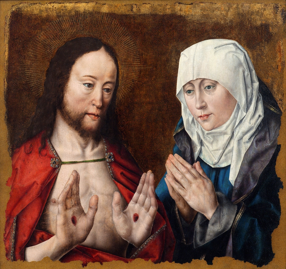 Christ appears to Mary