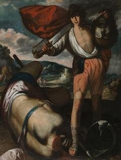 David con la cabeza de Goliath