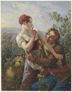De verliefde wijngaardenier