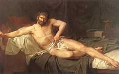 Death of Cato of Utica