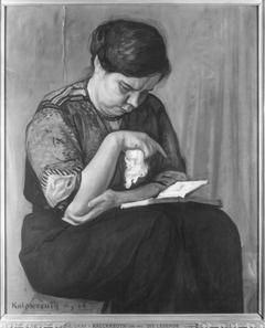 Die Lesende (Adelheid Koenigs)