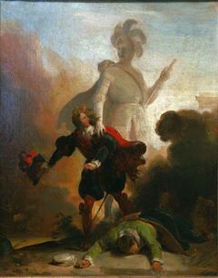 Don Juan et la statue du commandeur
