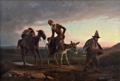 Don Quixote's first ride home