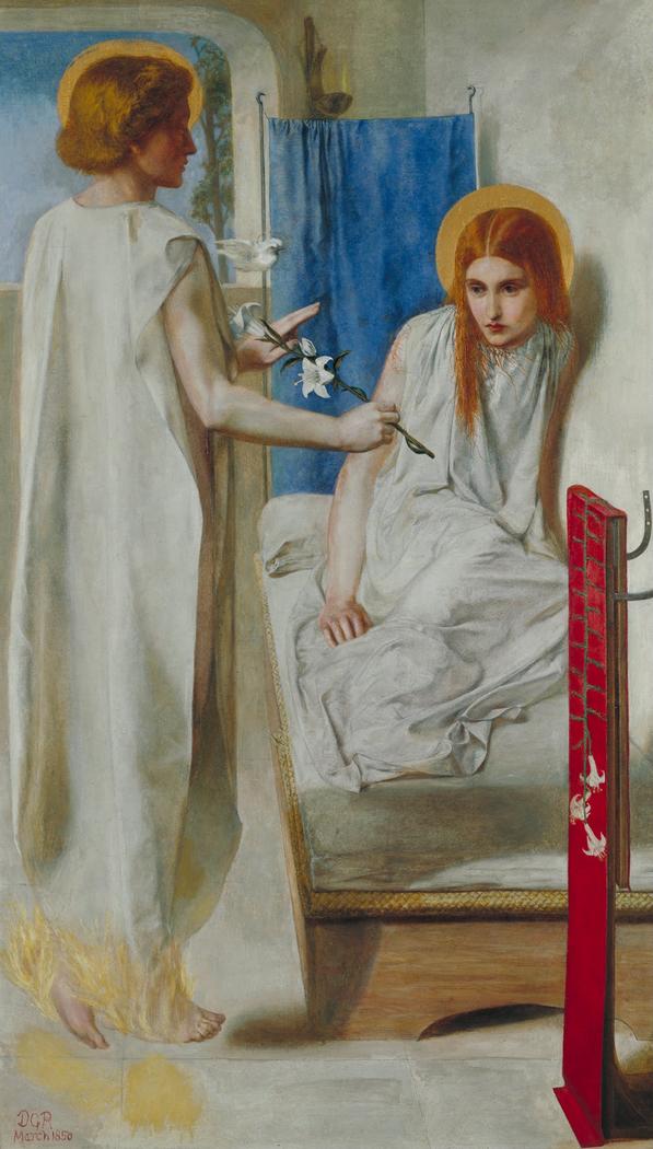 Ecce Ancilla Domini (The Annunciation)