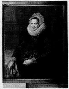 Een portret van een vrouw