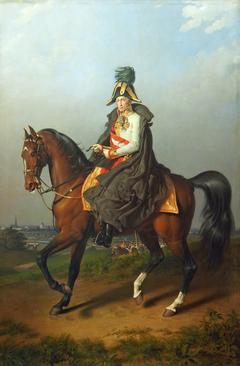 Equestrian Portrait of Franz I (1768-1835)