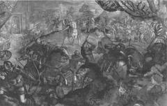 Federico I Gonzaga libera Legnano dall`assedio degli Svizzeri.
