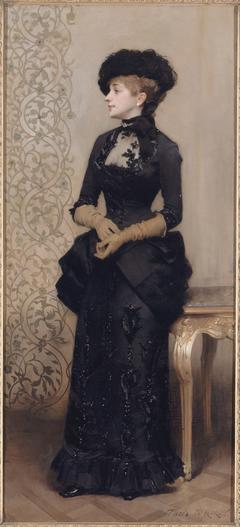 Femme aux gants, dite La Parisienne
