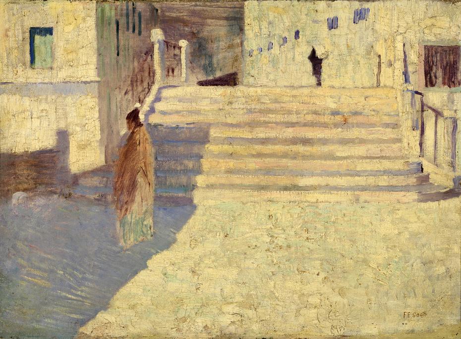 Femmes pres des Escaliers no. II
