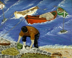 Fisherman at Mykonos