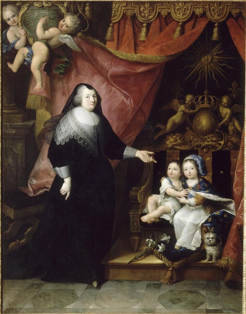 Françoise de Souvré, marquise de Lansac, et les enfants de France