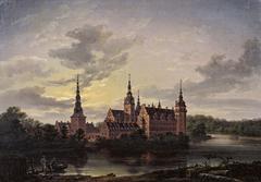 Frederiksborg Castle in Moonlight