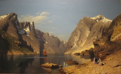 From the Romsdal Fjord, 1875
