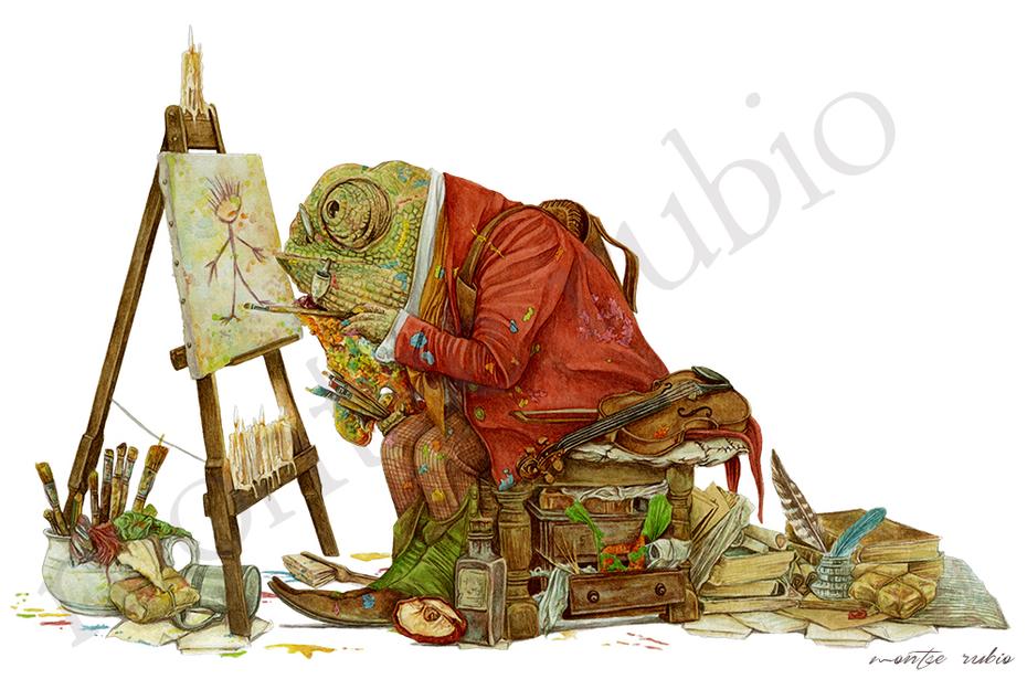 Goblin painter