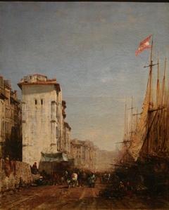 Harbor Quay in Marseille