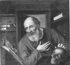 Hl. Hieronymus (Kopie nach einem verlorenen Original) (Kopie nach)