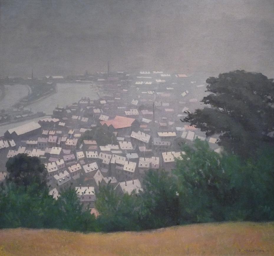 Honfleur in Fog