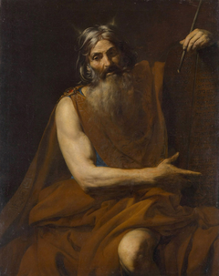 Horned Moses and the Tablets of the Law