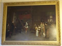 Karel I bij Van Dijck