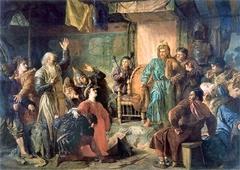 Kęstutis and Vytautas imprisoned by Jogaila