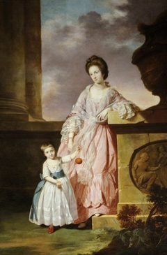 Lady Frances Greville, Lady Harpur (1744-1825) and her Son Henry Harpur, later Sir Henry Harpur Crewe, 7th Bt (1763-1819)
