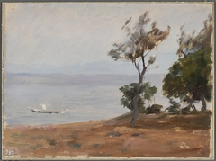Landscape. From the journey to Constantinople