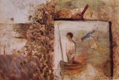 Landscape with Puvis de Chavannes' Poor Fisherman