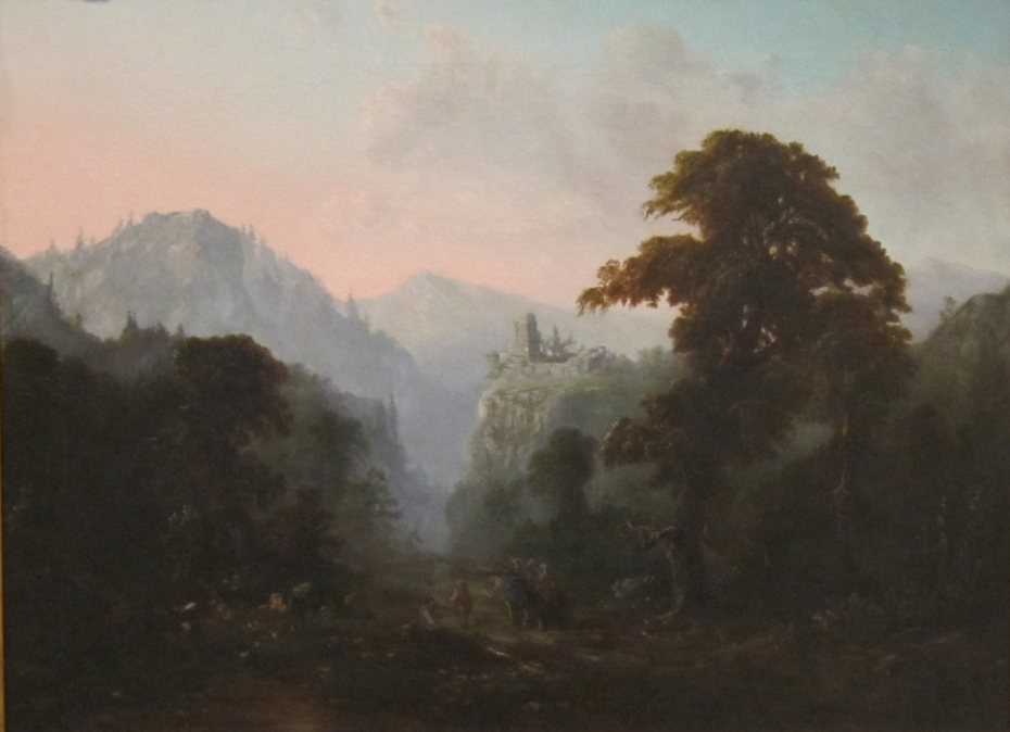 Landscape with Ruin