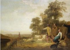 Landscape with Shepherds and Shepherdesses