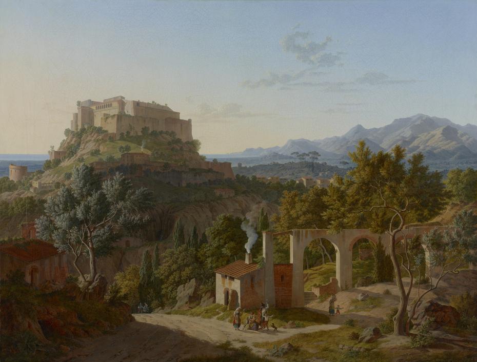 Landscape with the Castle of Massa di Carrara