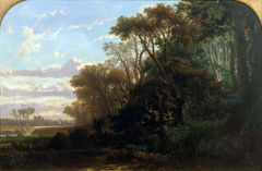 Landscape with Woods