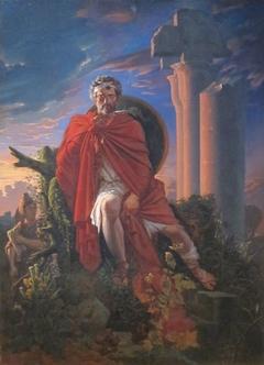 Marius Meditating on the Ruins of Carthage