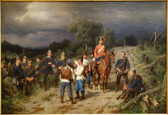 Meeting of the Austrian and Prussian Commanders